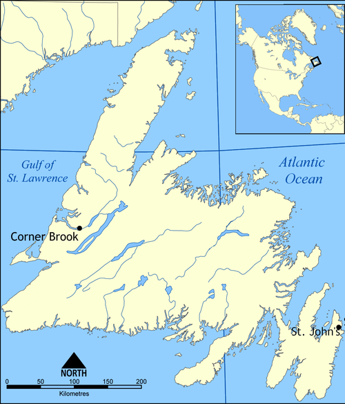 Newfoundland Map Wikipedia DL CSG 130813.png